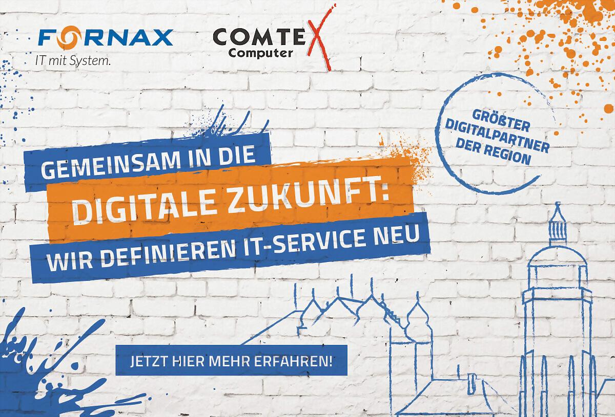Fornax Gmbh + Comtex Computer: Gemeinsam in die digitale Zukunft!